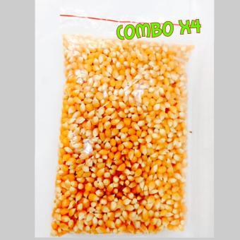 Combo 04 Túi ngô mỹ dùng nổ bắp rang bơ