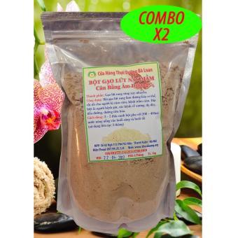 COMBO 2 Bột gạo lứt nảy mầm loại bỏ cảm giác thèm ăn