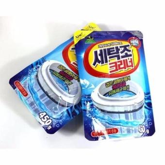 COMBO 2 Gói Bột tẩy lồng máy giặt Hàn Quốc giúp bạn vệ sinh sạch sẽ lồng giặt
