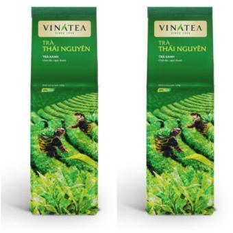Combo 2 túi Trà Vinatea Thái Nguyên sợi rời túi HCK 100g