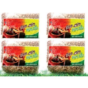 ComBo 4 gói Gạo Lứt Rong Biển Sấy Ăn Liền Ohsawa 200g