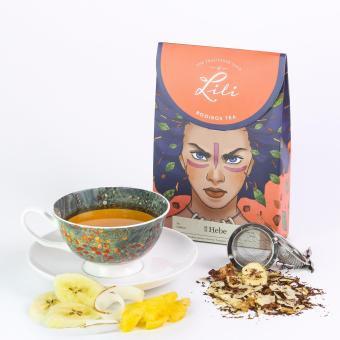 Hồng trà Nam Phi Lili hương chuối dừa - 50g