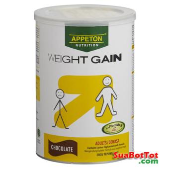 Sữa Appeton Weight Gain Adults vị sô cô la 900g (Cho người lớn)
