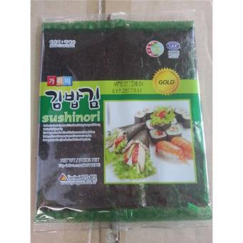 2 Gói Rong Biển Cuộn Cơm Gimbab Hàn Quốc (1 gói x 10 lá)