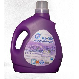 Nước Giặt Hàn Quốc All-100 Hương Liquid Detergent Oải Hương 3500ml