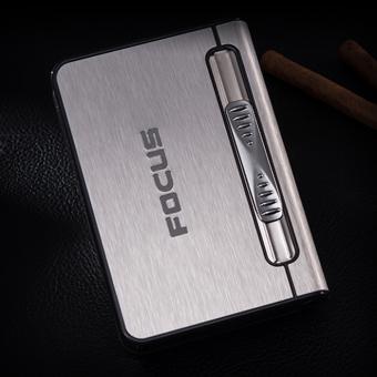 Hộp thuốc lá đa năng Focus (Bạc)