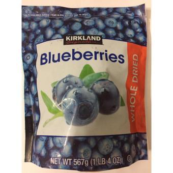 Blueberry sấy khô nguyên quả Kirkland 567g