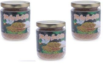 Bộ 3 hũ phấn ong hoa cà phê 100g