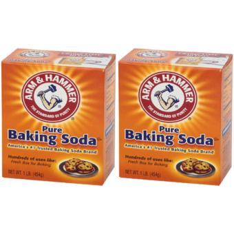 2 hộp Bột nở Baking Soda đa công dụng Arm & Hammer 454g