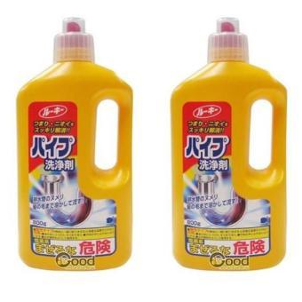 Bộ 2 Chai thông tắc đường ống thoát nước Daiichi - Sản xuất tại Nhật Bản 800g