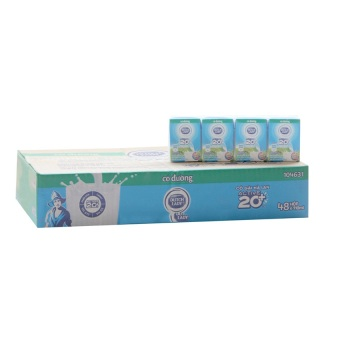 Thùng 48 hộp sữa tươi tiệt trùng Cô Gái Hà Lan có đường 110ml