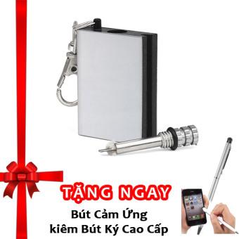 Diêm chịu nước quẹt bằng xăng độc đáo classic + Tặng bút ký kiêm bút cảm ứng cho smartphone và tablet