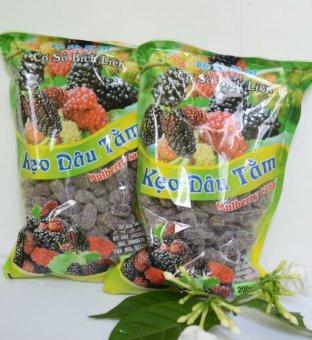 Bộ 2 gói kẹo dâu tằm Đà Lạt 200g