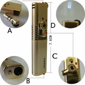 Bật lửa ma trơi có khóa an toàn Jobon F174 (Vàng)