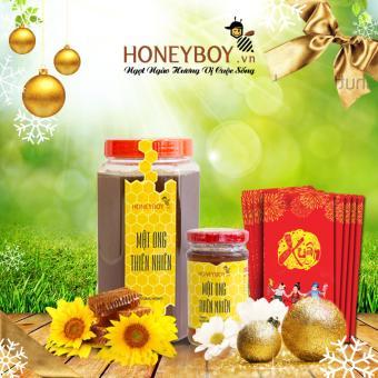 Bộ Mật ong thiên nhiên 1Kg và Mật ong thiên nhiên 100ml