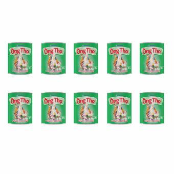 Bộ 10 Hộp Vinamilk Sữa đặc có đường Ông Thọ xanh lá 380g (Hộp thiếc)