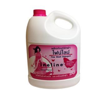 Nước giặt xả 2 in 1 Fineline Thái Lan 3600 ml + TẶNG KÈM MỘT BÁNH XÀ BÔNG LUX THÁI
