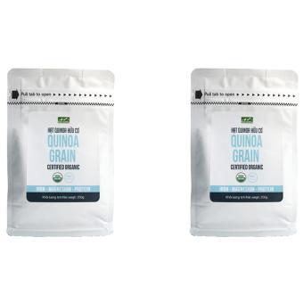 Bộ 2 túi hạt Diêm Mạch hữu cơ Hola Andina 200g (Hạt Quinoa)