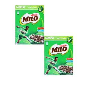 Bộ 2 Bánh Ăn Sáng Nestle Milo Cereal Hộp 170G