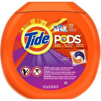 Viên giặt đa chiều Tide Pods dành cho máy giặt 72 viên
