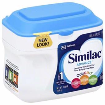Sữa bột Similac Advance tăng hệ miễn dịch cho trẻ 658g - Wowmart VN