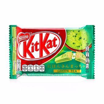 Bộ 2 Thanh KitKat 4F Trà Xanh Nestle