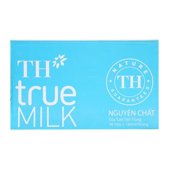 Bộ 48 hộp sữa TH true milk nguyên chất 180ml