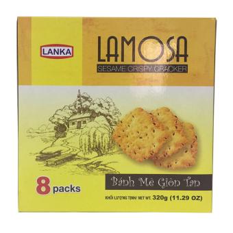 Bánh cracker mè Lamosa 320g