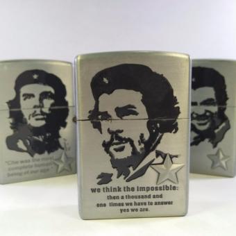 Bật lửa đá xăng HOAHAI.COM in hình Che Guevara