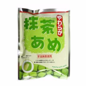 Kẹo trà xanh nhân sữa Yanoen