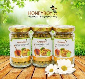 Bộ 3 Nghệ mật ong HONEYBOY 80g