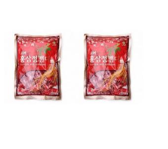 Bộ 2 Kẹo Hồng Sâm KGS 300g (Đỏ)