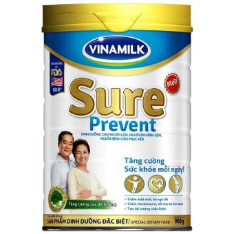 Sữa bột Vinamilk Sure Prevent 900g (Hộp thiếc)