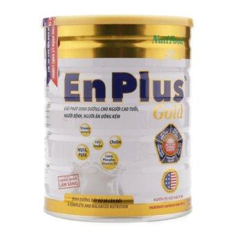 Sữa bột Nutifood EnPlus Gold cho người cao tuổi, ăn uống kém 900g
