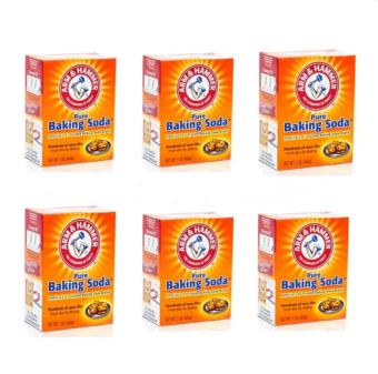 Bộ 6 Bột Baking Soda đa công dụng 454g