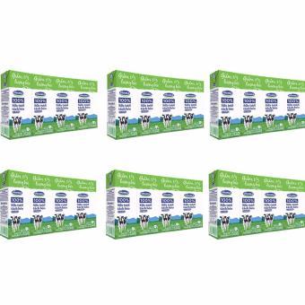 Bộ 6 Lốc Sữa tươi tiệt trùng Vinamilk 100% Tách béo có đường 4 hộp x 180ml
