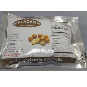 Bộ 9 gói Hạt mắc ca Macadamia nứt vỏ 500g (nhập Úc)