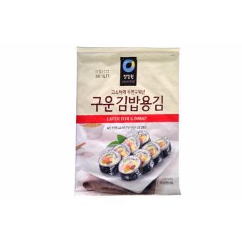 Rong Biển Cuộn Cơm Sushi Gimbab Hàn Quốc Loại Đặc Biệt (1 gói x 10 lá)