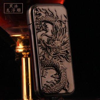 Mua Bật lửa chạm khắc rồng nổi (Bạc xám) giá tốt nhất