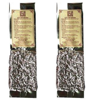 Bộ 2 gói trà shan tuyết suối giàng Bạch Hạc Trà 100g (Túi hút chân không)