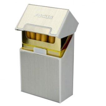 Hộp đựng bao thuốc lá Focus (Bạc)