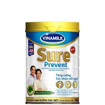 Sữa bột Vinamilk Sure Prevent 400g (Hộp thiếc)