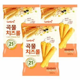 Bộ 3 bánh ngũ cốc nhân phô mai 80g