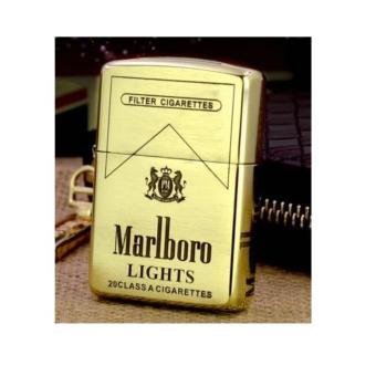 Zippo đồng thau Mỹ chính hãng hiệu thuốc lá Marlboro