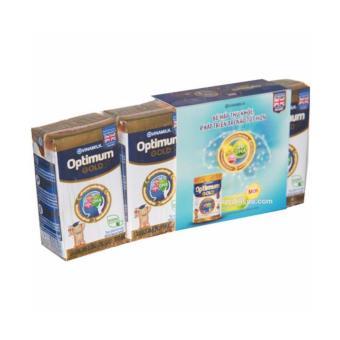 Thùng Sữa Uống Dinh Dưỡng Vinamilk Dielac Optimum Gold 110ml (110ml X48 Hộp)