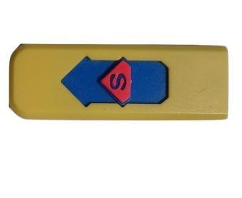 Hộp quẹt chữ S (Vàng)