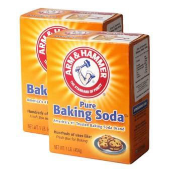 Hai hộp bột nở Baking Soda đa công dụng Arm & Hammer 454g