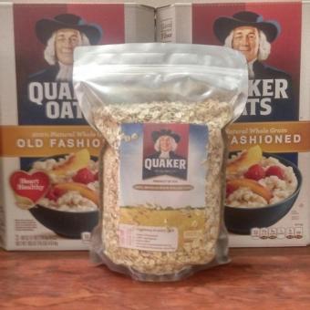 Bột yến mạch Quaker oats 100% USA (Chính hãng 1kg/gói)