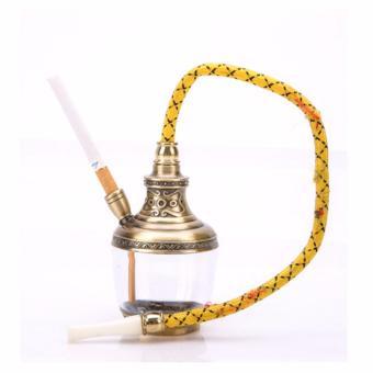 Tẩu lọc và hút thuốc lá, thuốc lào đa năng (Vàng đồng)