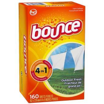 Giấy thơm quần áo Bounce 4 in 1 160 tờ